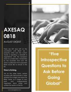 Axesa-Aug Monthly Digest-International Business-Going Global 5 Questions-1