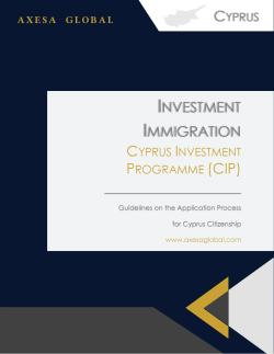 Cyprus Investment Programme
