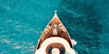 Axesa-Yacht on Sea-Cyprus