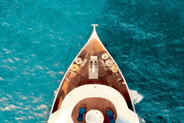 Axesa-Yacht on Sea-Cyprus